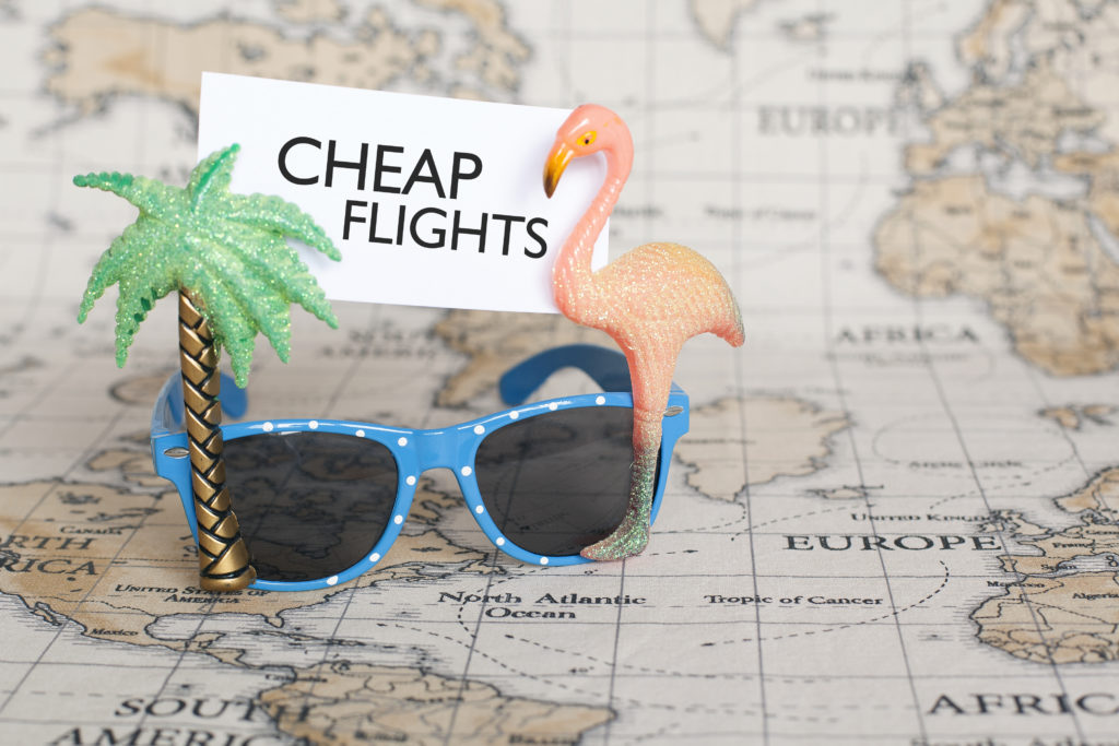 Bring your sunglasses on cheap flights from LAX to countries all over the world.