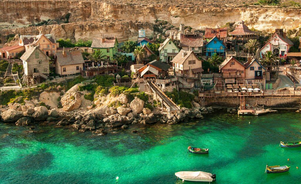 Popeye Village in Malta